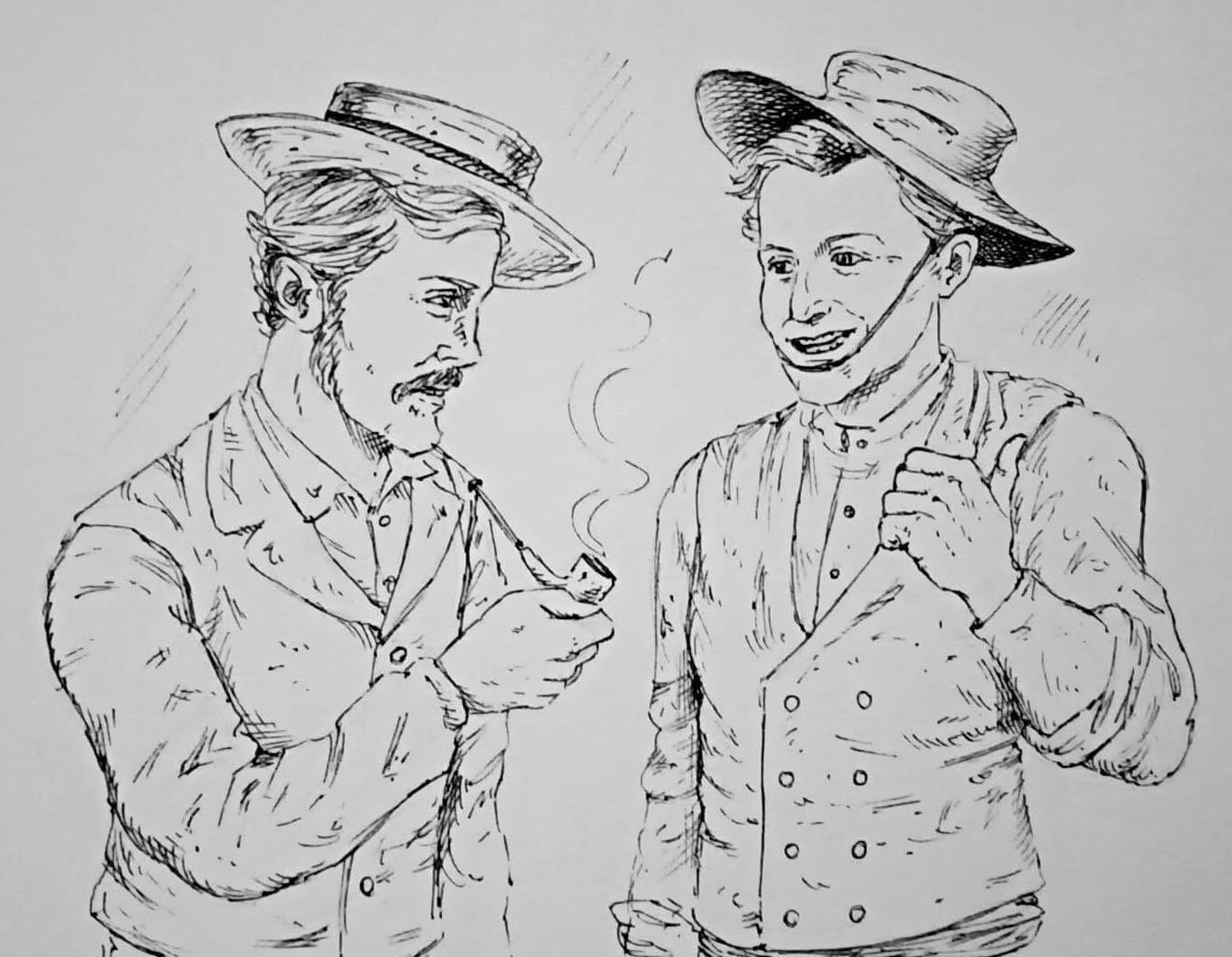 Joe and Aaron